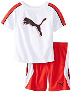 Puma - Kids Boys 2-7 Toddler Linear Set by Puma - Kids