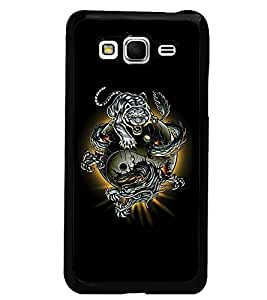 PrintDhaba Abstract Image D-4623 Back Case Cover for SAMSUNG GALAXY GRAND PRIME (Multi-Coloured)
