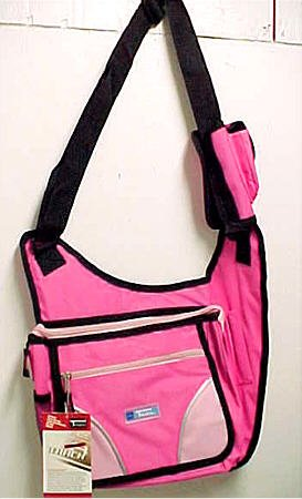 Large Hot Pink Canvas Shoulder Holster Travel Wallet Bag - Buy Large Hot Pink Canvas Shoulder Holster Travel Wallet Bag - Purchase Large Hot Pink Canvas Shoulder Holster Travel Wallet Bag (Coolstuff4U, Apparel, Departments, Accessories, Wallets, Money & Key Organizers, Travel Wallets)