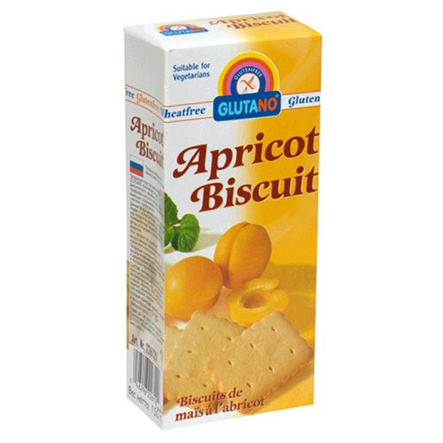 Buy Glutano Gluten-Free Biscuits, Apricot, 5.3-Ounce Boxes (Pack of 6) (Glutano, Health & Personal Care, Products, Food & Snacks, Snacks Cookies & Candy, Cookies, Fruit Cookies)