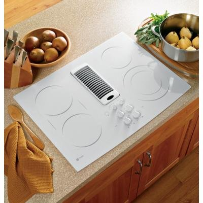 GE Profile : PP989TNWW 30 Electric Cooktop – White