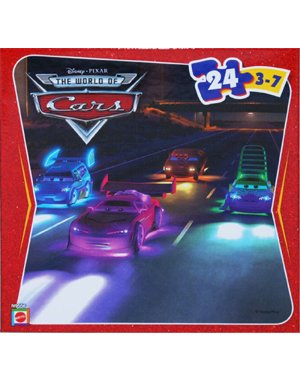 Cheap Mattel Disney Pixar Cars 24 Piece Puzzle – Night Chase (N9556) (B001T4WINI)