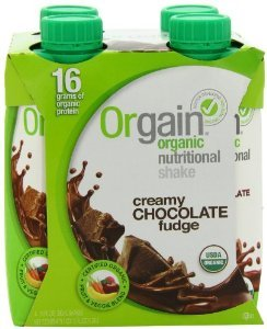 Orgain RTD Nutritional Shake Chocolate Fudge (3/4/11oz)