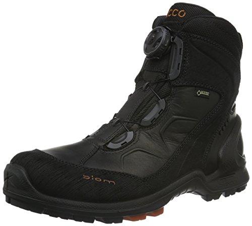 EccoECCO BIOM TERRAIN - Scarpe da trekking e da passeggiata Uomo, Nero (BLACK/PICANTE58692), 45 EU