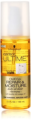 Schwarzkopf Essence Ultime Omega Repair Daily Oil Elixir, 3.4 Ounce (Omega Shine Hair Elixir compare prices)