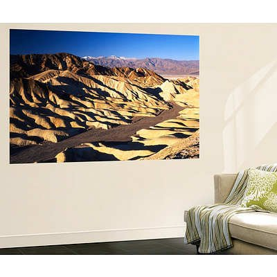 (48X72) Adam Jones - Telescope Peak In Mojave Desert, Death Valley National Park, Zabriskie Point, California, Usa Huge Wall Mural