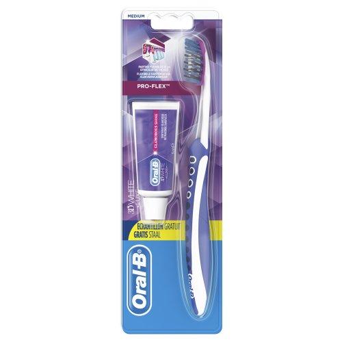 Brosse à dents 3D White Luxe medium - Pro-Flex