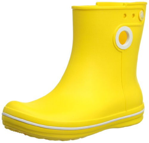Crocs Womens Jaunt Shorty Wellington Boots 15769-730-460 Yellow 6 UK, 39 EU, 8 US, Regular