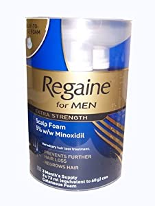 Rogaine Mens Foam Triple Pack