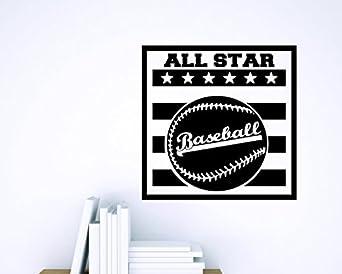 Zzz 839 3 Decoración de artículos de béisbol de los deportes de los