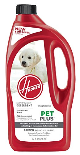 Hoover 2X PetPlus Pet Stain & Odor Remover 32 oz, AH30325 (Multi Purpose Carpet Cleaner compare prices)