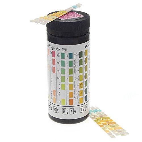 harnanalyse urin teststreifen 11 werte ph wert glucose blut ascorbins ure keton nitrit. Black Bedroom Furniture Sets. Home Design Ideas