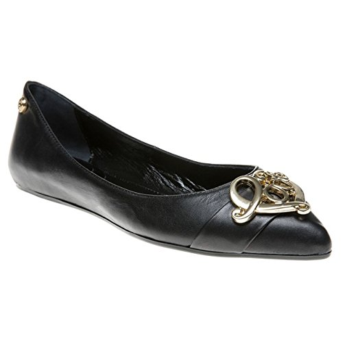 Love Moschino Pointed Ballet Donna Scarpe Nero