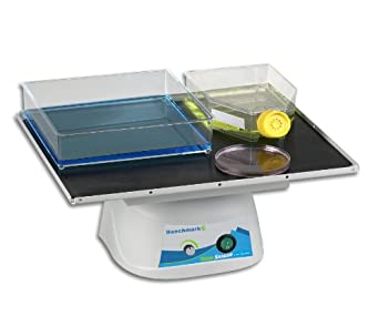 "Benchmark Scientific BT30 Orbi-Blotter Low Speed Orbital Shaker, with Standard 14 x 12"" Flat Mat Platform, 4kg Capacity, 115V"