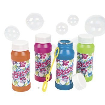 Tropical Bubble Bottles - Summer & Novelty Toys & Games