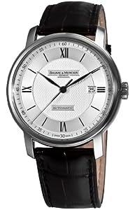 Baume & Mercier Men's 8868 Classima Executives Silver Guilloche Dial Watch