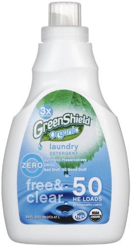 GreenShield Organic USDA Organic Free & Clear Laundry Detergent