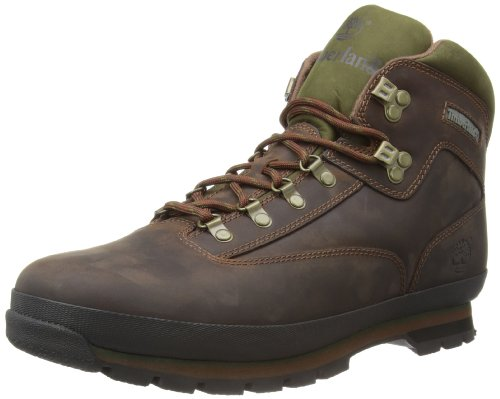 Timberland, Eurohiker Leather Br Brown, Stivali, Uomo, Marrone (Brown Smooth), 41