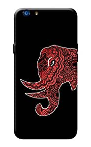Oppo F1s Back Cover Printed KanvasCases Premium Quality Designer Printed 3D Lightweight Slim Matte Finish Hard Case Back Cover for OPPO F1s + Free Mobile Viewing Stand
