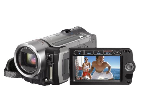 Canon HF100 High Definition Camcorder - 12x Optical Zoom With 2.7 inch Widescreen Multi-Angle Vivid LCD