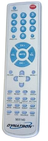 Dynatron Miracle Remote Replacement For Jvc Tvs Made Since 1988 Channel Auto Programming
