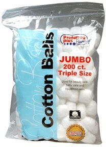 COTTON BALLS JUMBO ***KPP 200 ct.