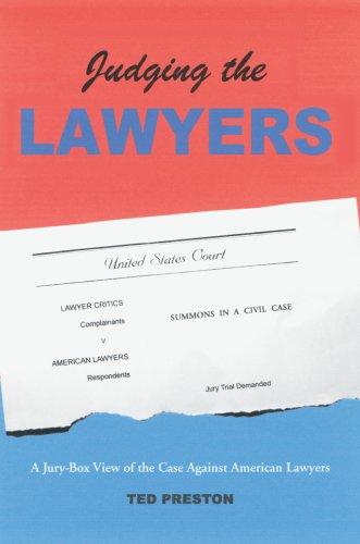 Juzgar a los abogados: una vista jurado del caso contra abogados americanos