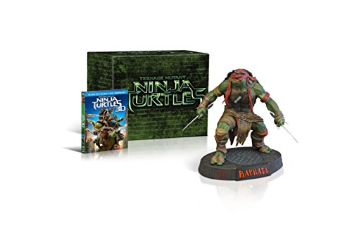 Teenage Mutant Ninja Turtles (2014) -Limited Edition Gift Set with Raphael Collectible Statue [Blu-ray 3D + Blu-ray + DVD + Digital Copy]