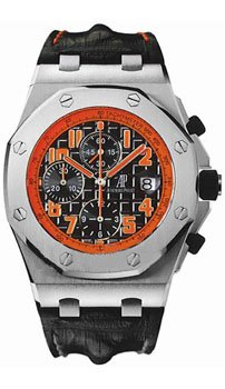 Audemars Piguet Royal Oak Offshore Black Leather Mens Watch 26170STOOD101CR01 by Audemars Piguet