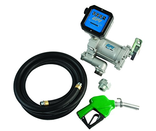 GPI M-3120-AD/MR 5-30-G8N,  ASMD 133600-35 HIGH FLOW CAST IRON FUEL TRANSFER PUMP W/ METER, 20 GPM, 115 VAC (Fuel Pump Transfer 20 Gpm compare prices)