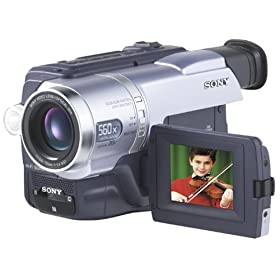 "Sony DCRTRV140 Digital8 Camcorder with 2.5"" LCD, Video Light & USB Streaming"