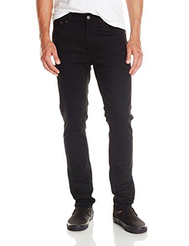 nudie-jeans-lean-dean-jeans-unisex-adulto-nero-dry-cold-black-w26-l30