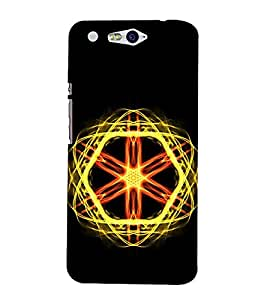 Vizagbeats Atomic Energy Back Case Cover for Infocus M812