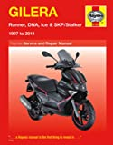 img - for Gilera: Runner, DNA, Ice & SKP/Stalker 1997 to 2011 (Haynes Service & Repair Manual) book / textbook / text book