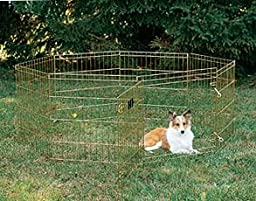 Midwest Gold Zinc Pet Exercise Pen : Size 24X48