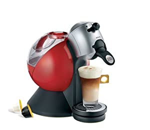 Krups Nescafé Dolce Gusto KP200640 Coffee Machine, Makes 7 Drinks, Red