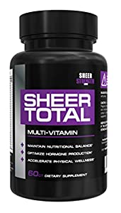 Sheer Strength Labs Total Multivitamin for Men, 60 Count