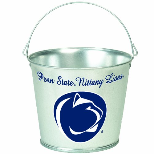NCAA Penn State Nittany Lions 5-Quart Galvanized Pail