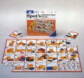 Picture of Fun Ravensburger Kid Puzzle,spot's,alphabet Floor Puzzle, 28 Pieces (B00004TQHT) (Floor Puzzles)