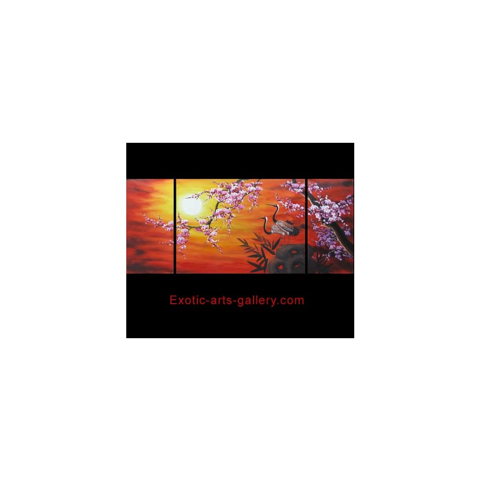 Contemporary Art Wall Art Décor Stretched Canvas Prints Cherry Blossoms Canvas Wall Art