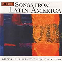 Songs from Latin America cover