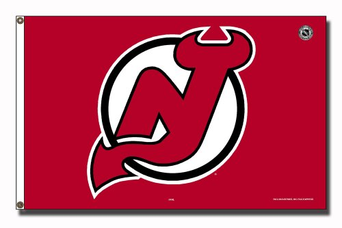 Nhl New Jersey Devils 3-Foot By 5-Foot Banner Flag
