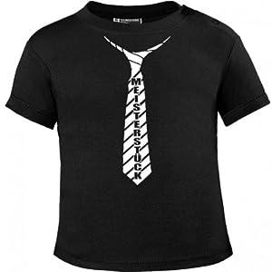 Meisterstück Schlips weissprint Baby T-Shirt by Mikalino