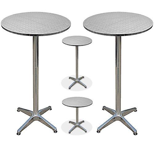 2x-Bistrotisch-Stehtisch-aus-Aluminium-hhenverstellbar-70cm-oder-115cm-60cm