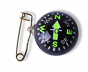 Stansport Pin On Ball Compass by Stansport