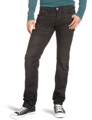 Energie Men's 9I7R00-Dl9852-L00R70/Raph Trousers 34 Straight Leg Jeans Black (L00R70) 34/34