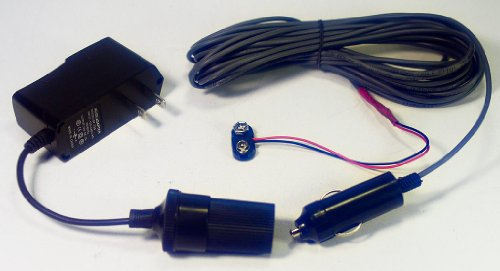 Meade #546 Compatible Ac Power Adapter & 25Ft Power Cord For Meade Etx 60, 70, 80 Telescopes With Snap On Power Connectors