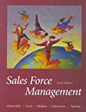 Sales Force Management (The Irwin/Mcgraw-Hill Series in Marketing)