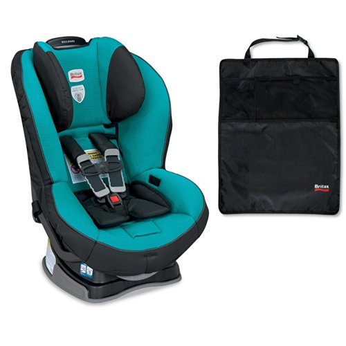 Britax Boulevard G4 Convertible Car Seat And Kick Mats- 2 Pack, Laguna front-871686