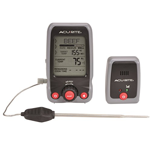 AcuRite 00278 Digital Meat Thermometer and Timer with Pager (Acurite Digital Thermometer compare prices)
